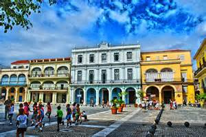 Different Styles Of Houses old square plaza vieja in cuba myvacationpages