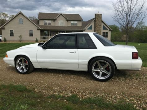 1993 ford mustang lx 5 0 notchback supercharged foxbody