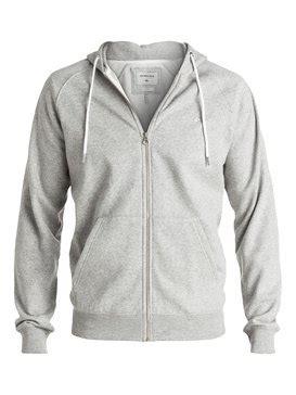 Hoodie Zipper Quiksilver Black 1 mens sweatshirts best hoodies for guys quiksilver