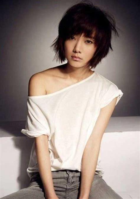 korean haircut for thick hair 8 choppy bob hairstyles for thick hair crazyforus
