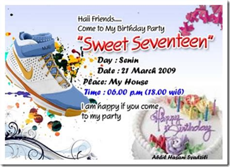 contoh surat undangan ulang tahun anak terbaru 2014