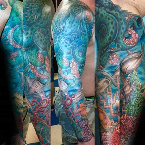 sea life tattoos sea creatures tattoos www pixshark images