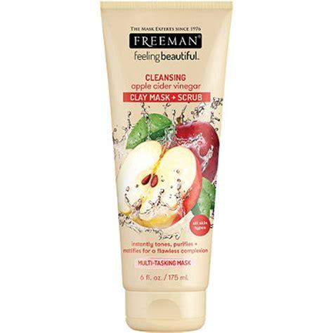 Freeman Cleansing Apple Cider Vinegar Clay Mask Scrub Import Usa 4 in 1 apple cider vinegar foaming clay mask ulta