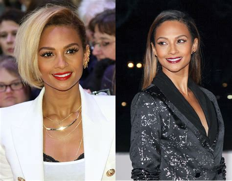alesha dixon hair color dramatic celebrity hair color transformations