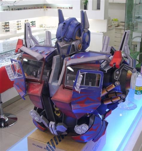 Optimus Prime Papercraft - optimus prime papercraftsquare free papercraft