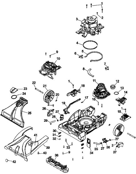 hoover floormate parts diagram hoover maxextract 77 parts diagram hoover insight parts