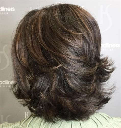 70 Brightest Medium Length Layered Haircuts And Hairstyles by Beautiful Feathered Hairstyles For Medium Length Hair