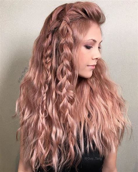 rose gold hair color 25 best ideas about rose gold hair on pinterest rose