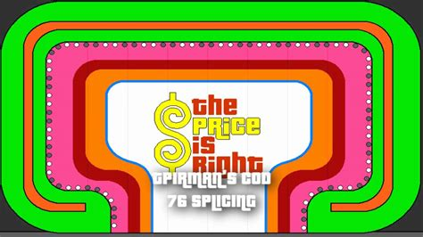 the price is right come on theme 1976 splice