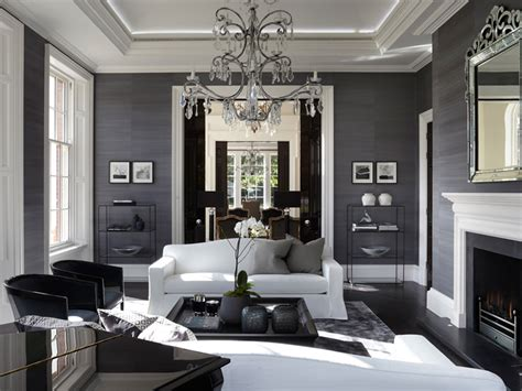 Interior Design Ideas Grey Walls by Country House Louise Bradley Interior Design