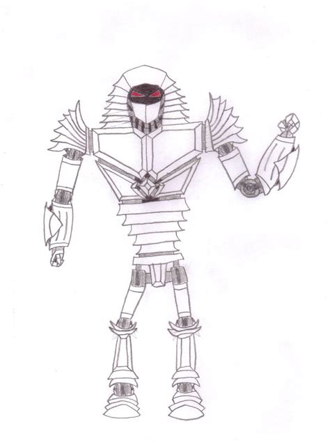 noisy boy coloring page real steel custom bot by meowmeowmeow21 on deviantart