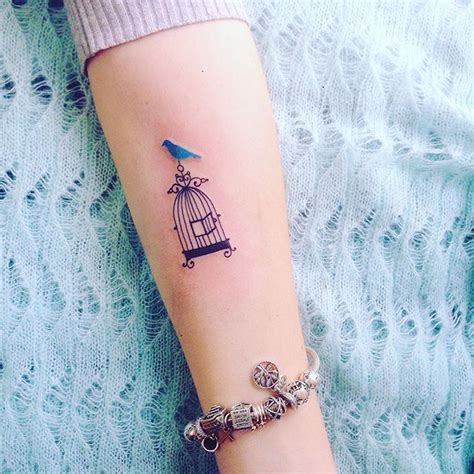 bird cage wrist tattoo 74 best options images on bird cage
