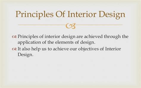 basics of interior design principles of interior design