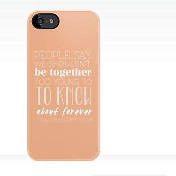 One Direction Lyric 1d X0025 Casing Iphone 7 Custom Cover one direction they don t about us from redbubble things