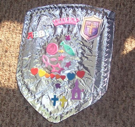 faith craft for the armor of god armors castles and vacation bible school