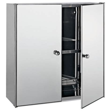 tesco bathroom cabinets buy stainless steel mirrored door bathroom cabinet
