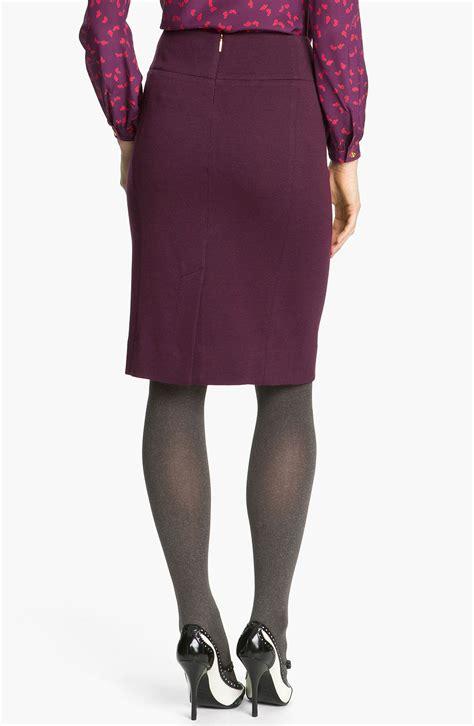 burch anthea pencil skirt in purple plum lyst