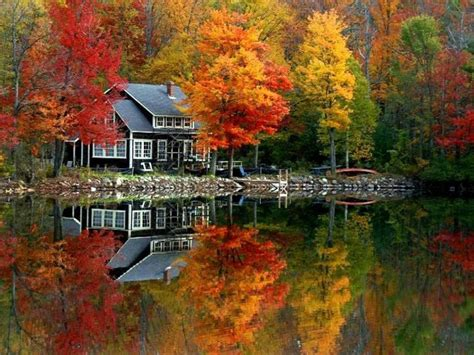 river side houses beautiful riverside home in the fall pictures photos and images for facebook tumblr