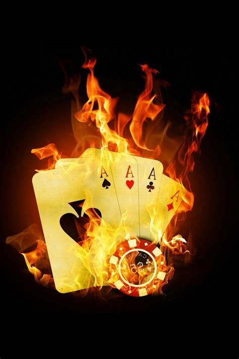 wallpaper iphone 5 poker special poker on fire iphone hd wallpaper special poker