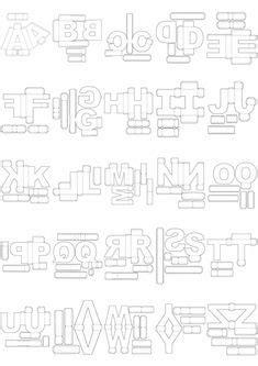 Resultado de imagen para letras 3d para imprimir gratis