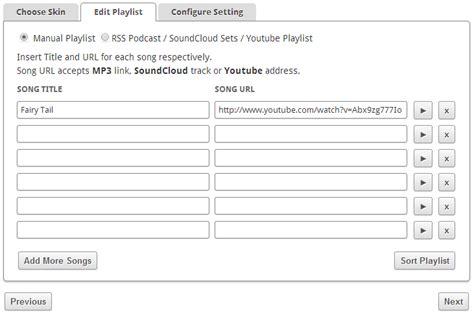 cara membuat blog mp3 cara membuat mp3 player di blogger dengan menggunakan