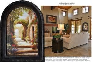 world tuscan decor walls