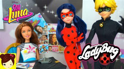 imagenes lindas muñecas ladybug y cat noir rescatan a soy luna episodio con