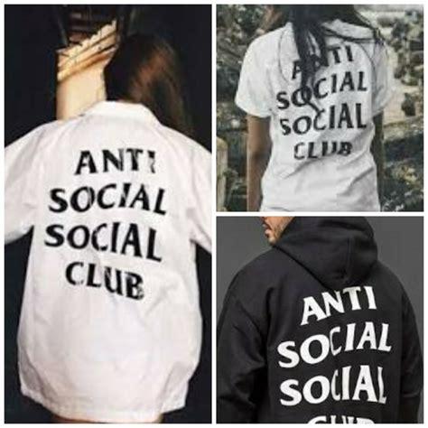 Baju Kaos Anti Social Social Club Assc Keren Warung Kaos 3 trend design kaos paling laris 2018 til keren dengan