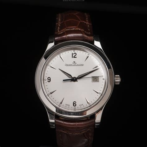 Jaeger LeCoultre Master Control Date ref. 147.8.37 S   40mm   MD Watches