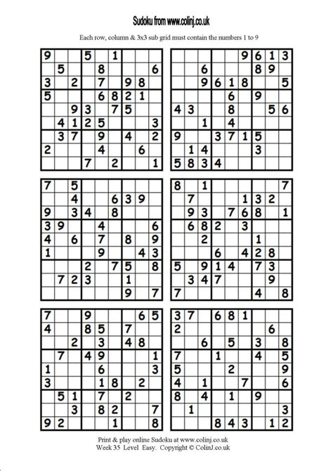 printable sudoku 6 to a page printable sudoku 6 related keywords printable sudoku 6