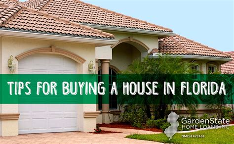 Buy House In Florida by Buying A House In Fl Garden State Home Loans