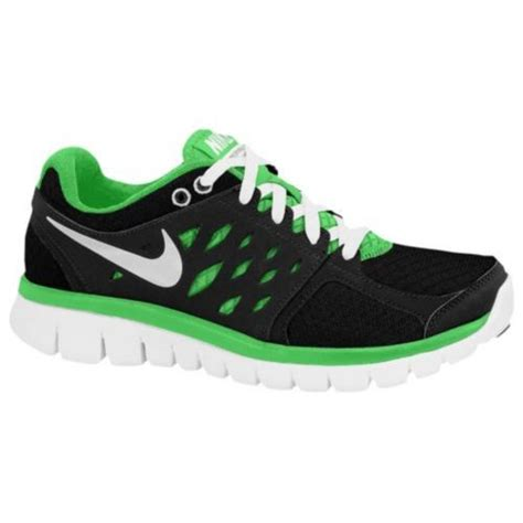 youth boys athletic shoes nike flex run 2013 boys sneakers athletic shoes green
