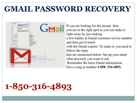 gmail password reset ppt you are turning upward for the gmail password