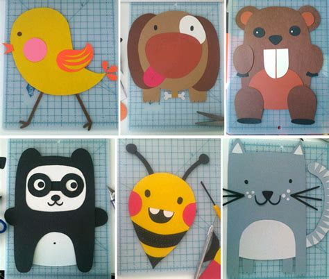How To Make Animals Out Of Construction Paper - discovery america piktorama