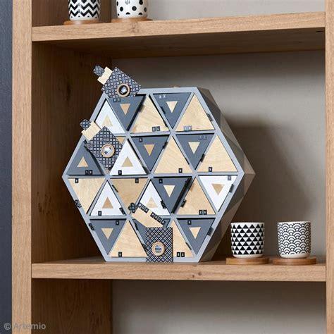 Calendrier De L Avent En Bois A Decorer by Calendrier De L Avent En Bois 224 D 233 Corer Hexagone 36 5