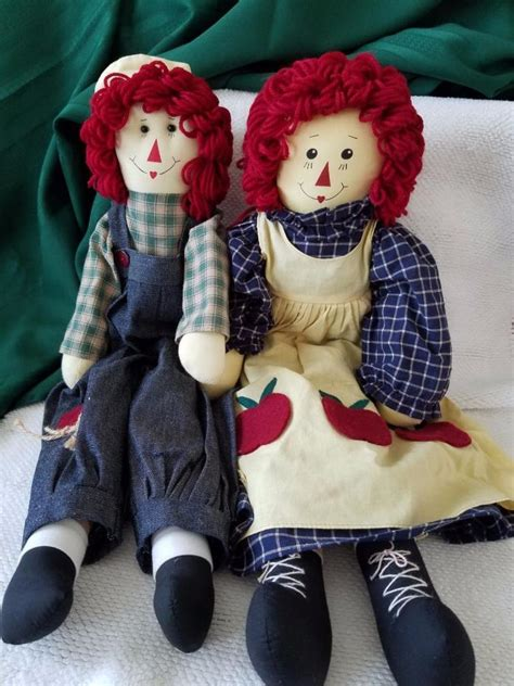 Handmade Raggedy Dolls For Sale - handmade raggedy and andy dolls for sale classifieds