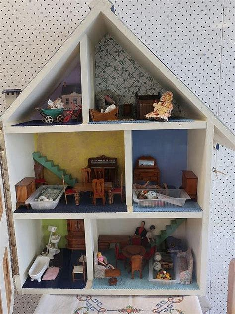doll house balgowlah vintage dolls house with furniture