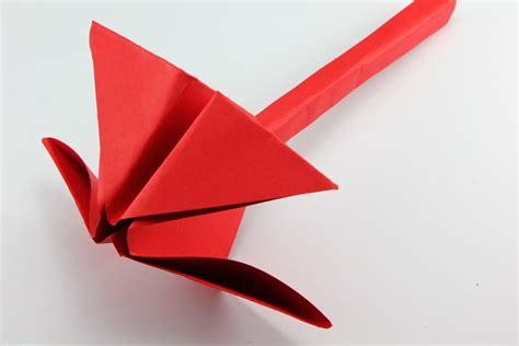 Twisted Origami - how to make an origami twist flower 15 steps with pictures