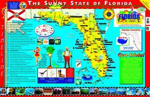 product map of florida posters