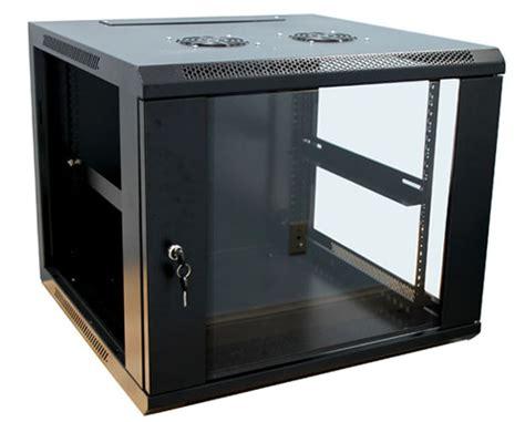 safecage 6u network server cabinet rack wall mount scw