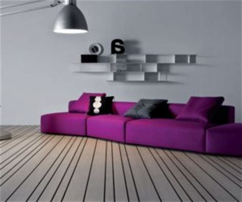 how to match a purple sofa to your living room d 233 cor curves tufted chair in purple and chocolate brown