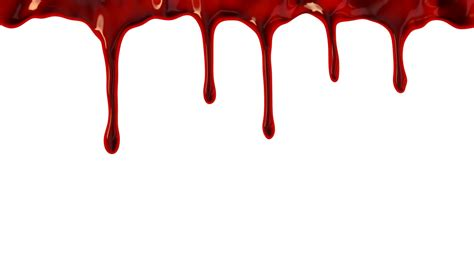 photos dripping blood transparent background drawing