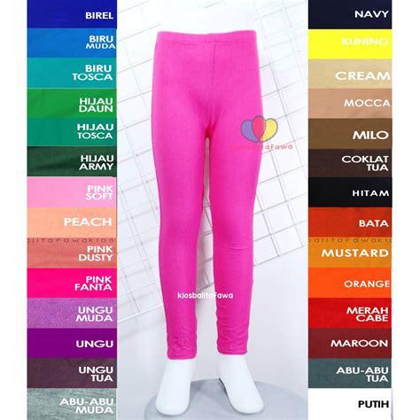 Celana Legging Army Panjang Ketat legging polos uk anak tanggung 8 12 th celana anak
