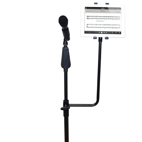 Standing Microphone Universal 14 inch high universal tablet microphone stand attachment bracket for 7 10 inch tablets pi