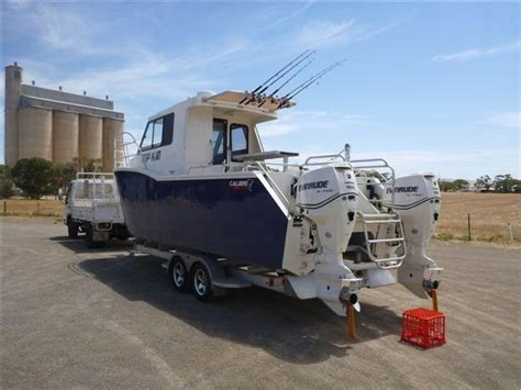 commercial fishing boat and licence for sale nsw 2010 oceantech charter fishing catamaran for sale