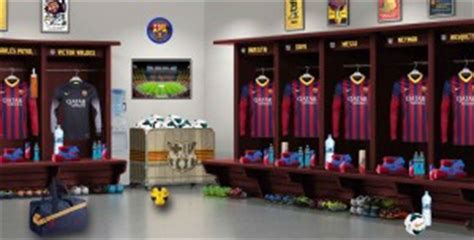 barcelona fc room pes 2014 fc barcelona locker room by meryoju pes patch