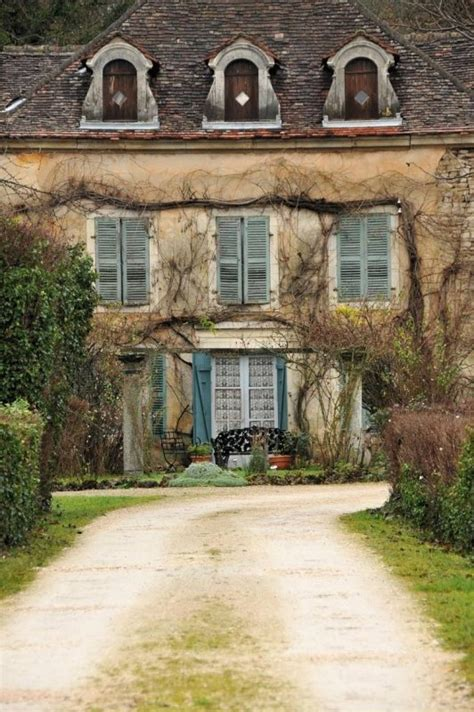 french country homes exterior c 244 te d or france house facade exterior french country