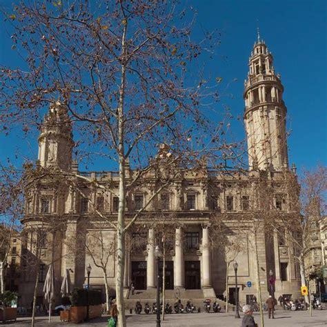 correos horario oficina correos oficina central barcelona