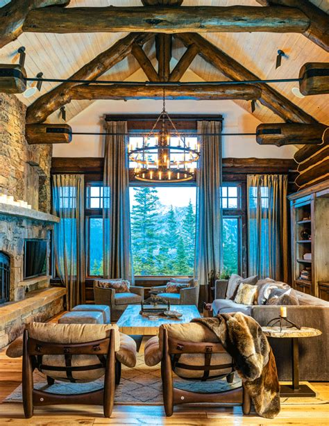 mountain home interiors mountain home great room decor ideas make mine rustic