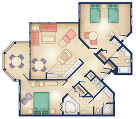 villa room layout dvc rental old key west resort